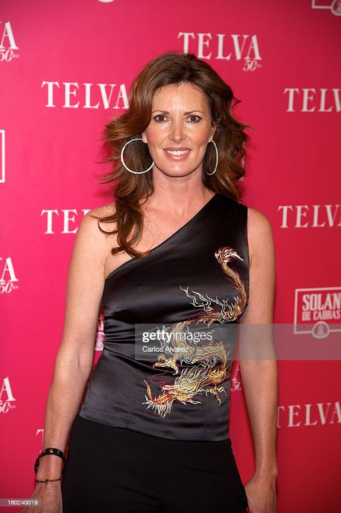 Spanish actress Veronica Mengod attends 'Beauty T' awards at the Palace Hotel on January 28, 2013 in Madrid, Spain.
