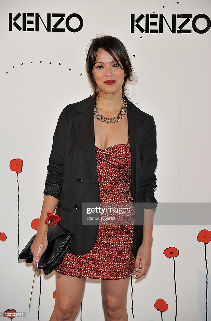 Spanish actress Veronica Sanchez attends 'Kenzo' Party at Canal de Isabel II Foundation on June 15, 2010 in Madrid, Spain.