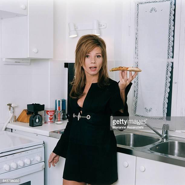 Spanish actress Victoria Abril