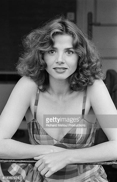 Spanish actress Victoria Abril visits Cannes in 1983