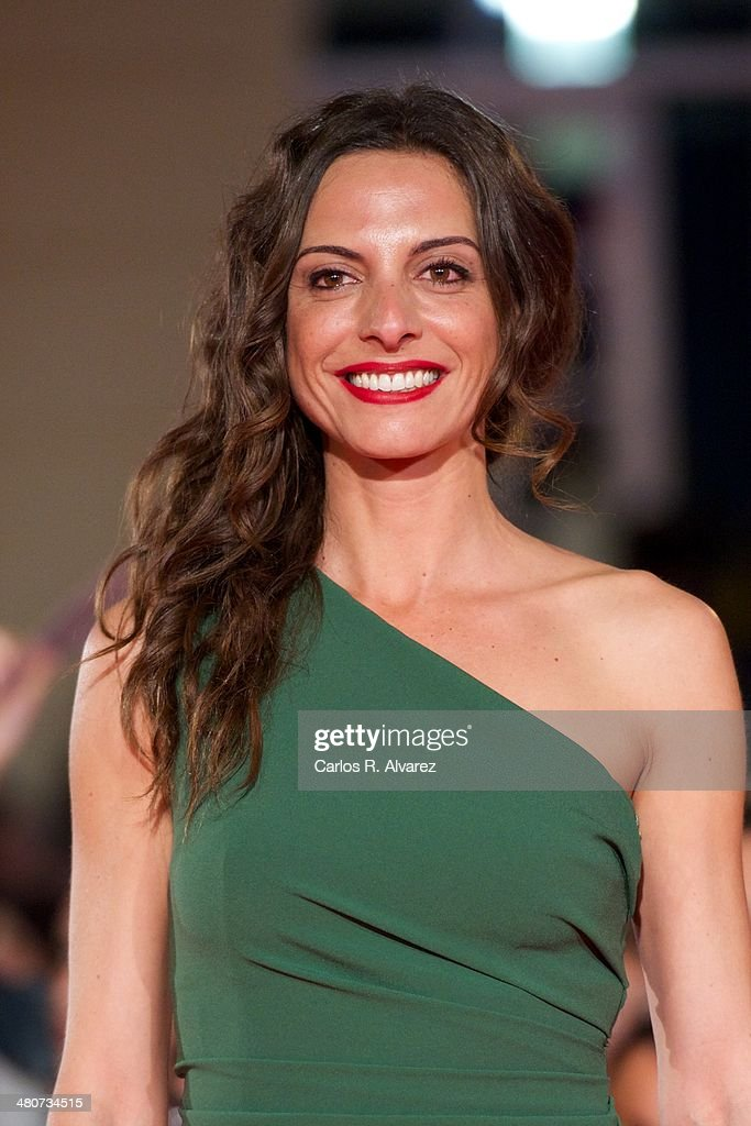 Spanish actress Virgina Munoz attends the 'Por un Punado de Besos' premiere during the 17th Malaga Film Festival 2014 - Day 6 at the Cervantes Theater on March 26, 2014 in Malaga, Spain.