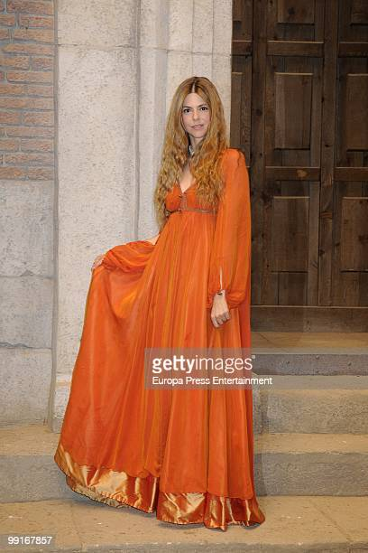 Spanish actresse Manuela Velasco joins 'Aguila Roja' tv series on May 13 2010 in Madrid Spain