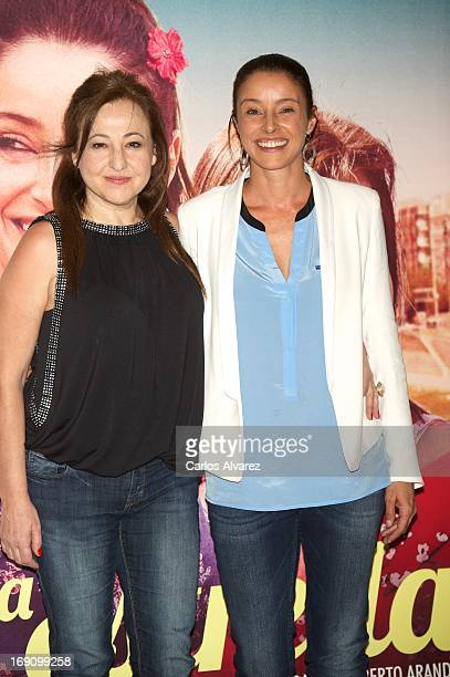 Spanish actresses Carmen Machi and Ingrid Rubio attend the 'La Estrella' photocall at the Palafox cinema on May 20 2013 in Madrid Spain