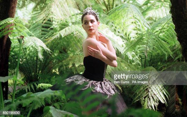 Spanish ballerina Tamara Rojo prepares for the English National Ballet's tour of Swan Lake which starts its British leg at the Scottish Exhibition...