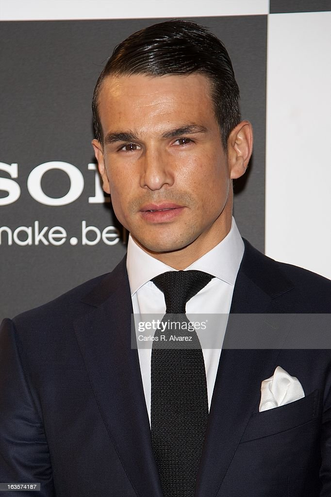 Spanish bullfighter Jose Maria Manzanares attends the Sony Mobile Gala premiere at the Callao cinema on March 12, 2013 in Madrid, Spain.