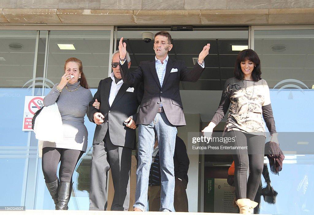 Juan Jose Padilla Leaves Virgen del Rocio Hospital