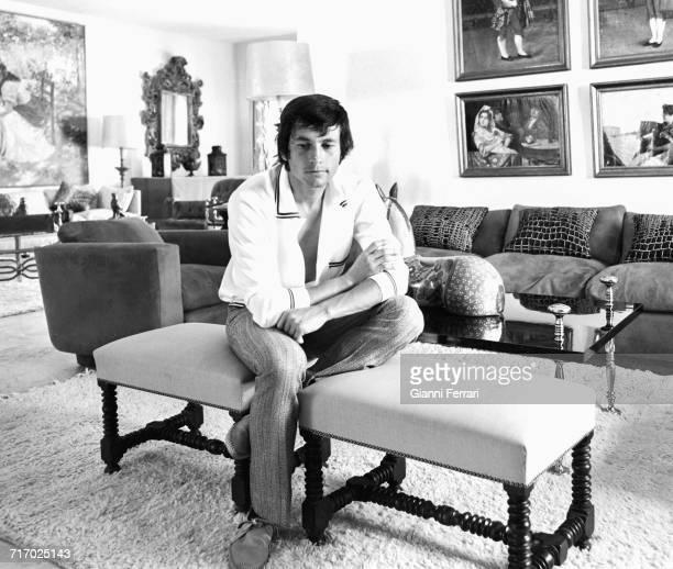 Spanish bullfighter Sebastián Palomo Martínez known professionally as Palomo Linares at his home in Aranjuez Madrid Spain 1966