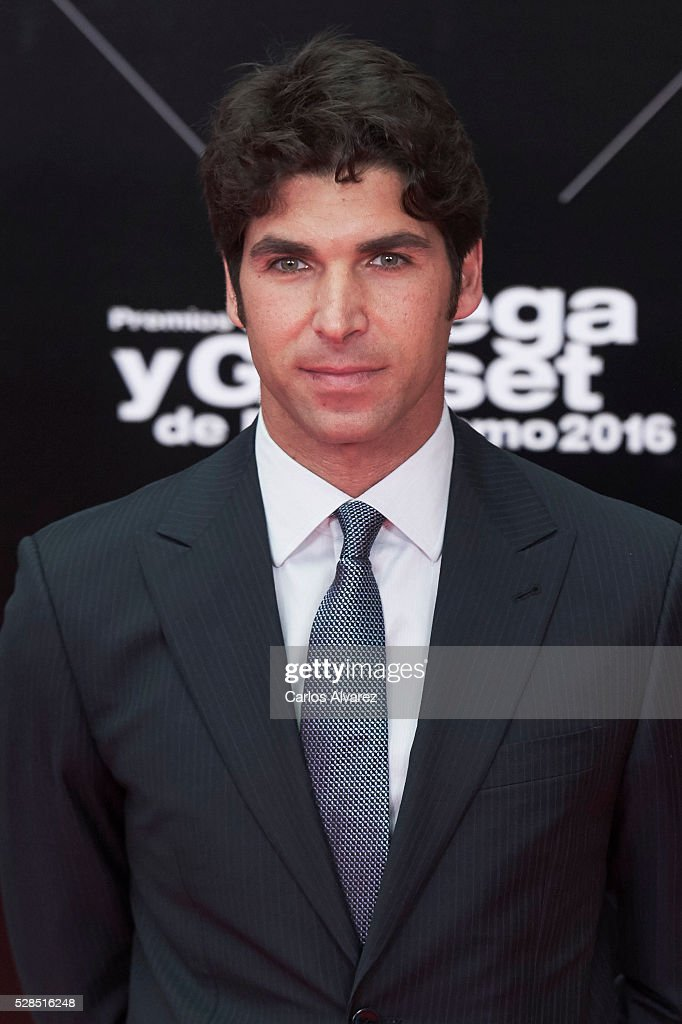 Spanish bullfigther Cayetano Rivera attends 'Ortega Y Gasset' journalism awards 2016 at Palacio de Cibeles on May 05, 2016 in Madrid, Spain.