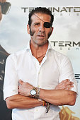 Spanish bullfigther Jose Padilla attends the 'Terminator Genesis' premiere at the Kinepolis cinema on July 8 2015 in Madrid Spain