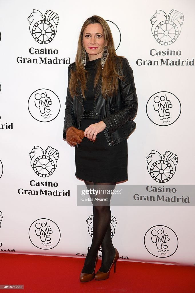 Spanish chef Begona Rodrigo attends the Casino Gran Madrid Colon opening on January 9, 2014 in Madrid, Spain.