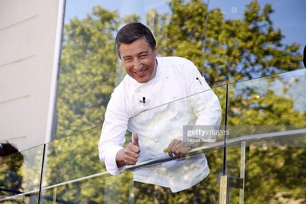 Spanish Chef of 'El Celler de Can Roca' Joan Roca attends 'El Somni', 'The Dream' Gastronimic Opera Performance on May 6, 2013 in Barcelona, Spain.