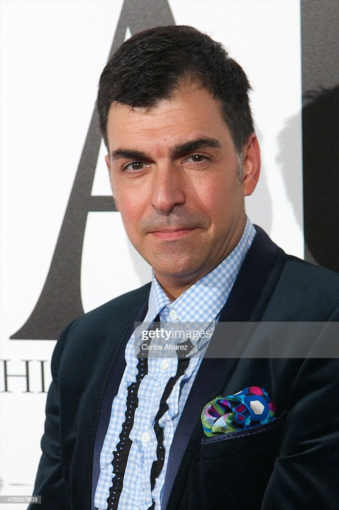 Spanish chef Ramon Freixa attends the AD Awards 2014 at the Santa Coloma Palace on February 27, 2014 in Madrid, Spain.