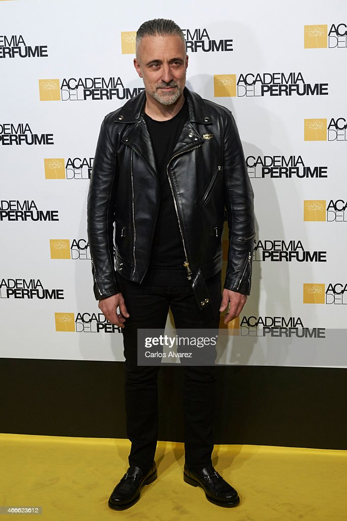 Spanish chef Sergi Arola attends 'Academia del Perfume' 2015 awards at the Casa Amaerica on March 17 2015 in Madrid Spain