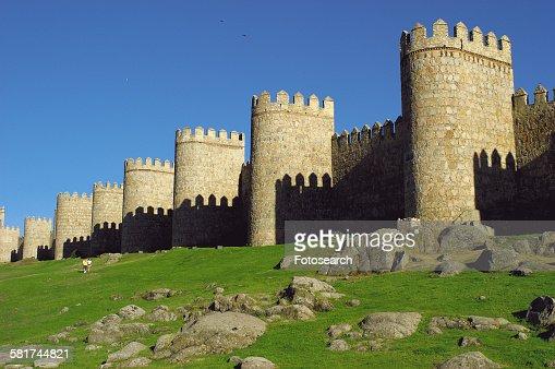 Spanish city wall