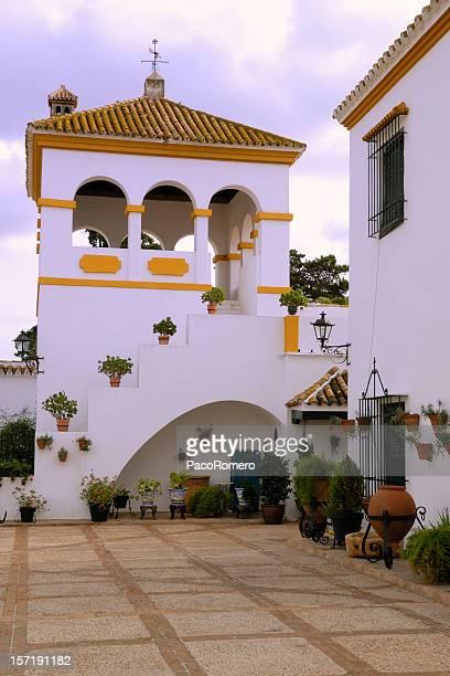Spanische cortijo oder hacienda