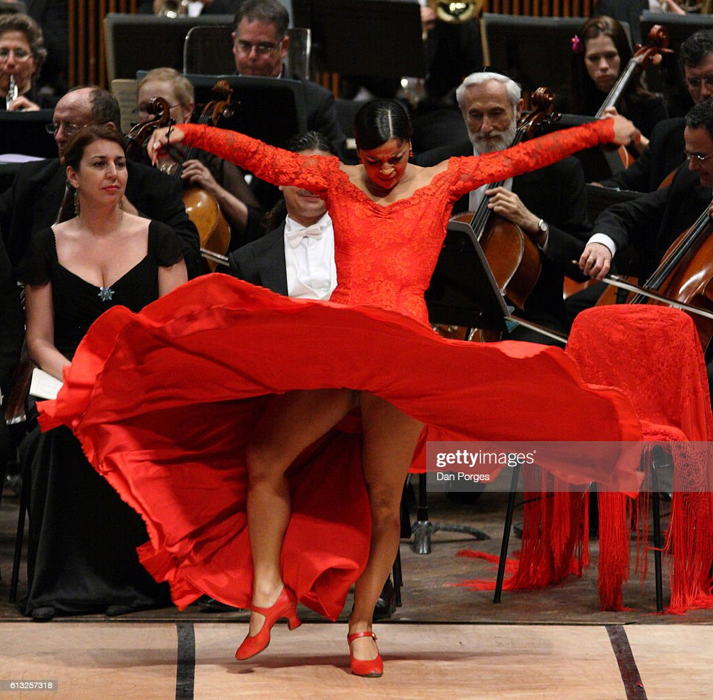 nuria pomares with israel philharmonic orchestra pictures getty