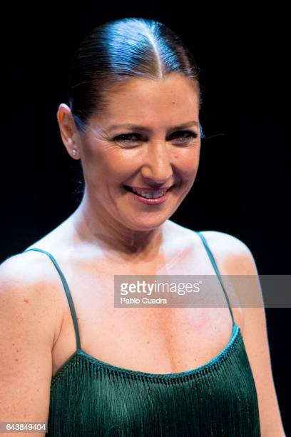 Spanish dancer Sara Baras presents 'Voces' at Nuevo Apolo theater on February 22 2017 in Madrid Spain