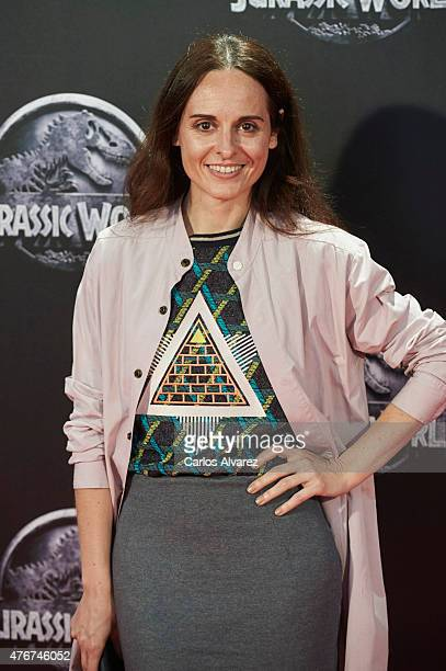 Spanish designer Ana Locking attends the 'Jurassic World' premiere at the Capitol Cinema on June 11 2015 in Madrid Spain