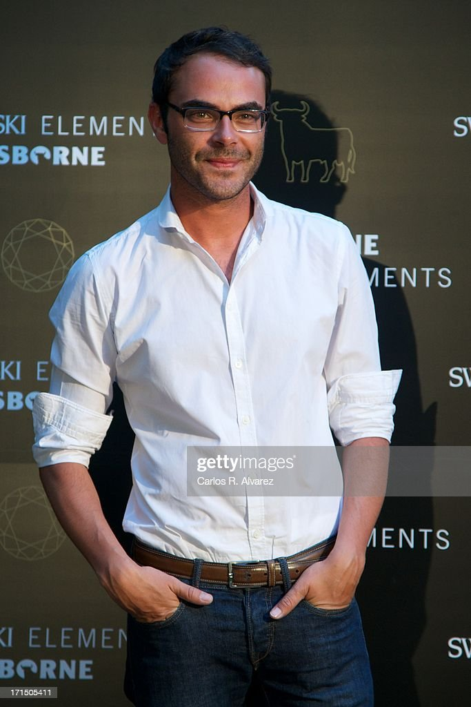 Spanish designer Ion Fiz attends Swarovski-Osborne Bull illumination at the Casa America on June 25, 2013 in Madrid, Spain.