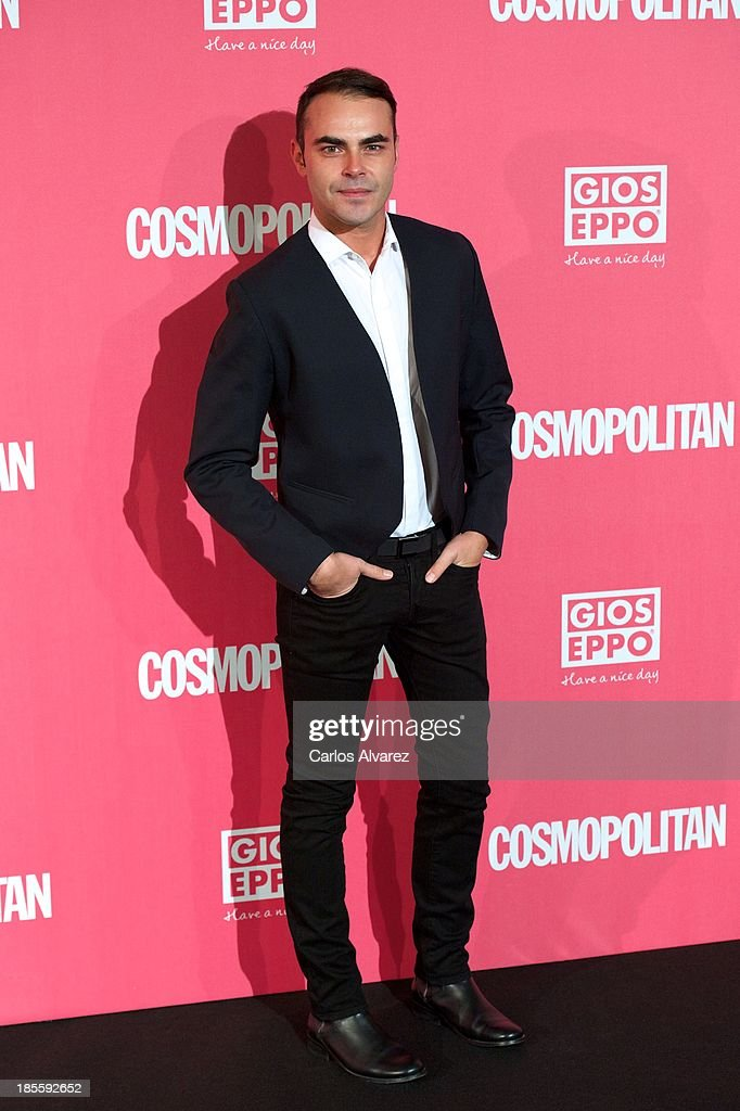 Spanish designer Ion Fiz attends the Cosmopolitan Fun Fearless Female Awards 2013 at the Ritz Hotel on October 22, 2013 in Madrid, Spain.