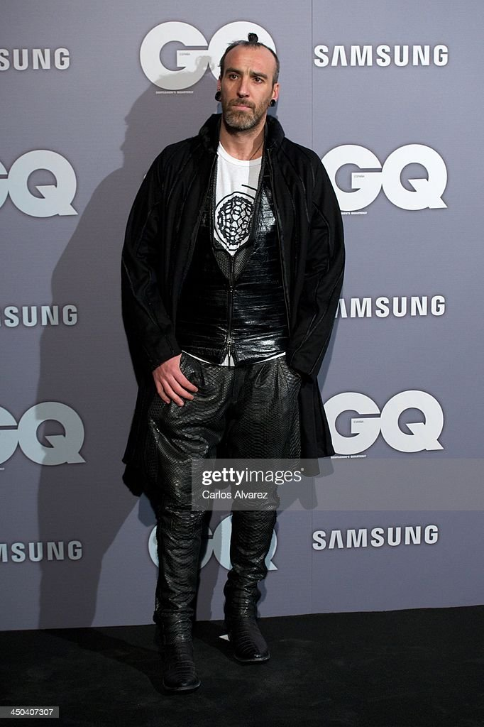 Spanish designer Miguel Adrover attends the GQ Men Of The Year Award 2013 at the Palace Hotel on November 18, 2013 in Madrid, Spain.