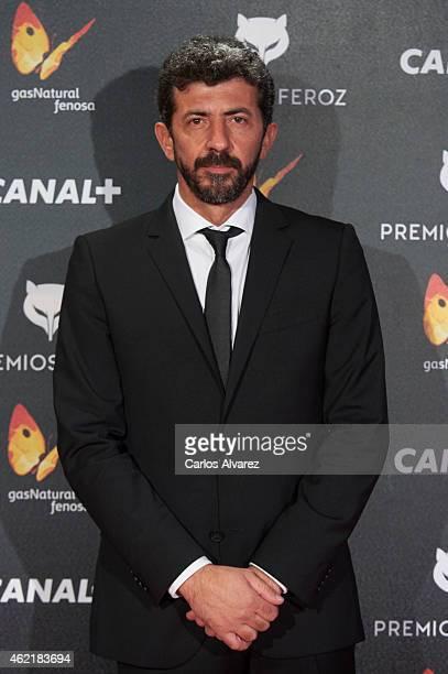 Spanish director Alberto Rodriguez attends the 'Feroz' Cinema Awards 2015 at Gran Teatro Ruedo Las Ventas on January 25 2015 in Madrid Spain