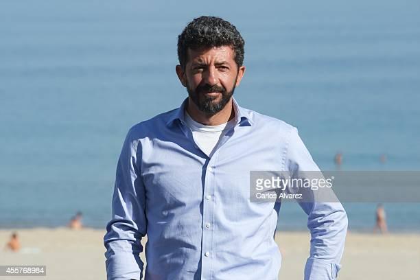 Spanish director Alberto Rodriguez attends the 'La Isla Minima' photocall at the Kursaal Palace during the 62nd San Sebastian International Film...