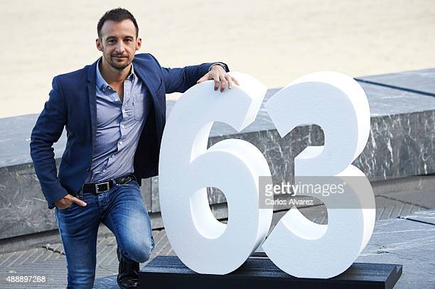 Spanish director Alejandro Amenabar attends 'Regresion' photocall during the 63rd San Sebastian International Film Festival on September 18 2015 in...
