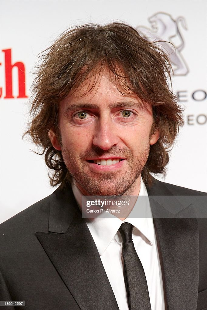 Spanish director Daniel Sanchez Arevalo attends Men's Health Awards 2013 at the Canal Theater on October 29, 2013 in Madrid, Spain.
