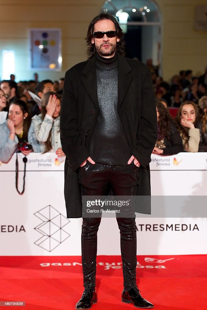 Spanish director David Menkes attends the 'Por un Punado de Besos' premiere during the 17th Malaga Film Festival 2014 - Day 6 at the Cervantes Theater on March 26, 2014 in Malaga, Spain.