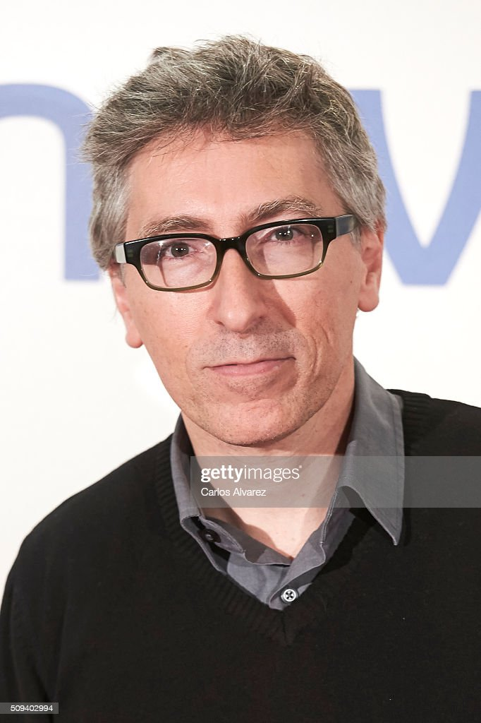 Spanish director <a gi-track='captionPersonalityLinkClicked' href=/galleries/search?phrase=David+Trueba&family=editorial&specificpeople=2142227 ng-click='$event.stopPropagation()'>David Trueba</a> attends the 'Que fue de Jorge Sanz' premiere at the Proyecciones cinema on February 10, 2016 in Madrid, Spain.
