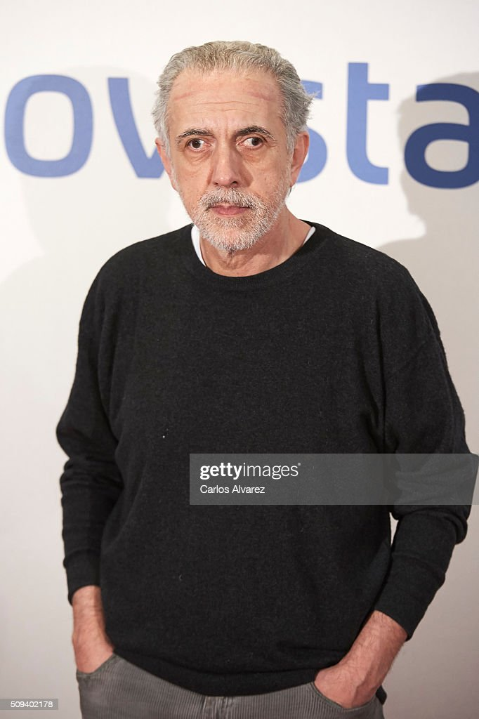 Spanish director <a gi-track='captionPersonalityLinkClicked' href=/galleries/search?phrase=Fernando+Trueba&family=editorial&specificpeople=2629453 ng-click='$event.stopPropagation()'>Fernando Trueba</a> attends the 'Que fue de Jorge Sanz' premiere at the Proyecciones cinema on February 10, 2016 in Madrid, Spain.