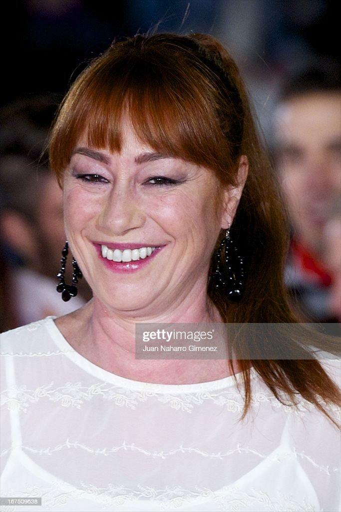 Spanish director Gracia Querejeta attends 'Gala Premio Eloy de la Iglesia' during 16 Malaga Film Festival at Teatro Cervantes on April 25, 2013 in Malaga, Spain.