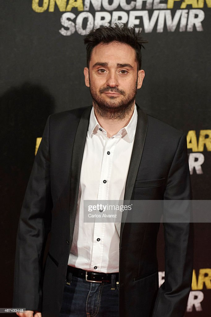 Spanish director Juan Antonio Bayona attends 'Una Noche Para Sobrevivir' (Run All Night) premiere at the Kinepolis cinema on March 24, 2015 in Madrid, Spain.