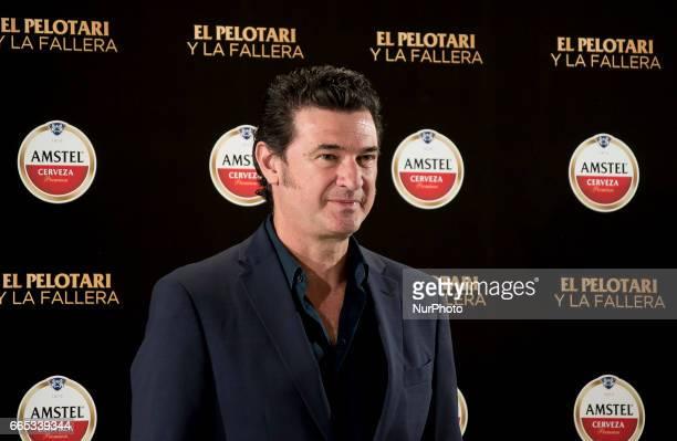 Spanish director Julio Medem attends 'El Pelotari Y La Fallera' premiere at the Callao cinema on April 5 2017 in Madrid Spain