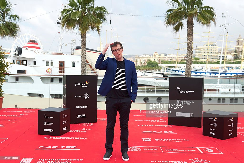 Spanish director Miguel Angel Lamata attends 'Nuestros Amantes' photocall during the 19th Malaga Film Festival on April 30, 2016 in Malaga, Spain.