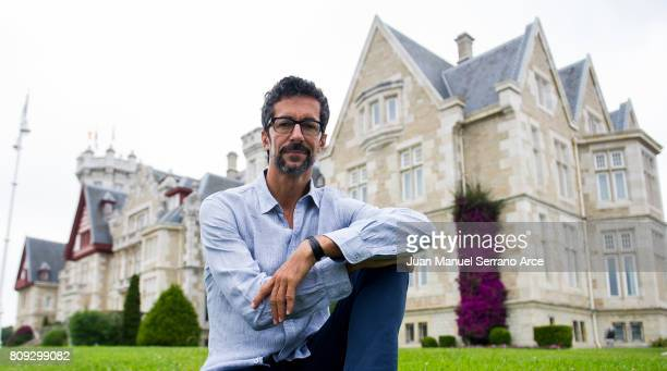 Spanish director of the National Dance Company Jose Carlos Martinez poses at the International Menendez Pelayo University on July 5 2017 in Santander...