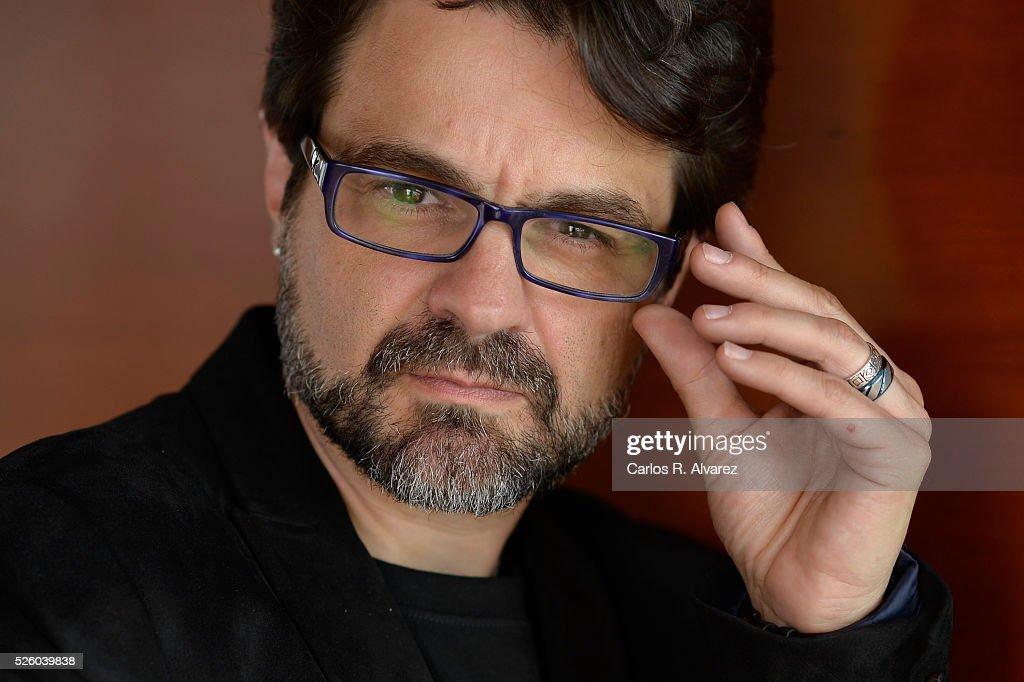 Spanish director Pedro Barbero attends a portrait session at the Malaga Palacio Hotel during the 19th Malaga Film Festival on April 29, 2016 in Malaga, Spain.