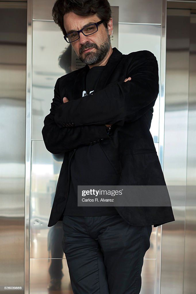 Spanish director Pedro Barbero attends a portrait session at the Malaga Palacio Hotel during the 19th Malaga Film Festival on April 29, 2016 in Malaga, Spain.