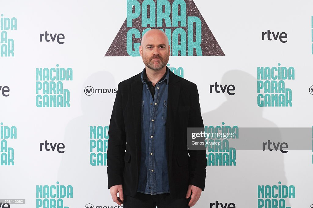 Spanish director Vicente Villanueva attends 'Nacidas Para Ganar' photocall at the Eurobuilding Hotel on May 04, 2016 in Madrid, Spain.