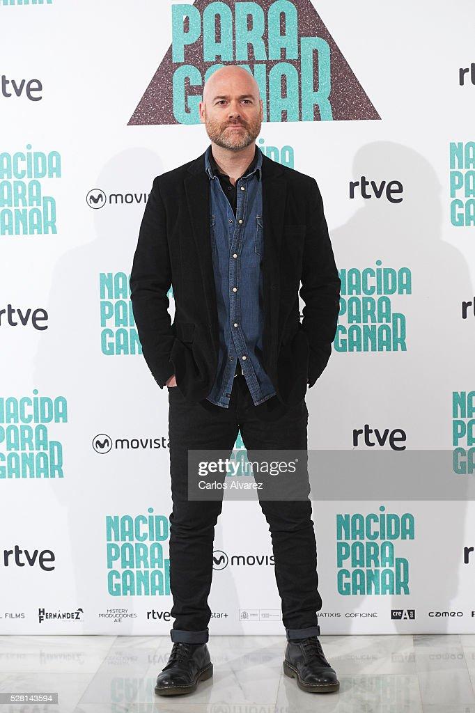 Spanish director Vicente Villanueva attends 'Nacidas Para Ganar' photocall at the Eurobuilding Hotel on May 04, 2016 in Madrid, Spain.
