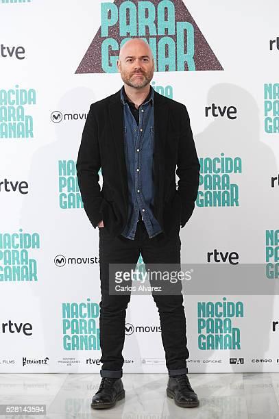 Spanish director Vicente Villanueva attends 'Nacidas Para Ganar' photocall at the Eurobuilding Hotel on May 04 2016 in Madrid Spain