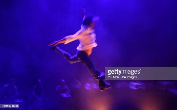 Spanish flamenco dancer Joaquin Cortes performing his show 'Mi Soledad' at the Royal Albert Hall in west London