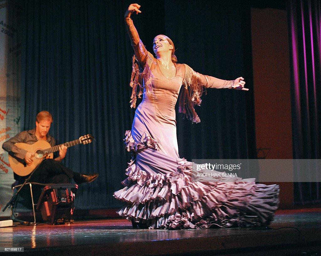 spanish flamenco dancer luisa palicio ma pictures getty images