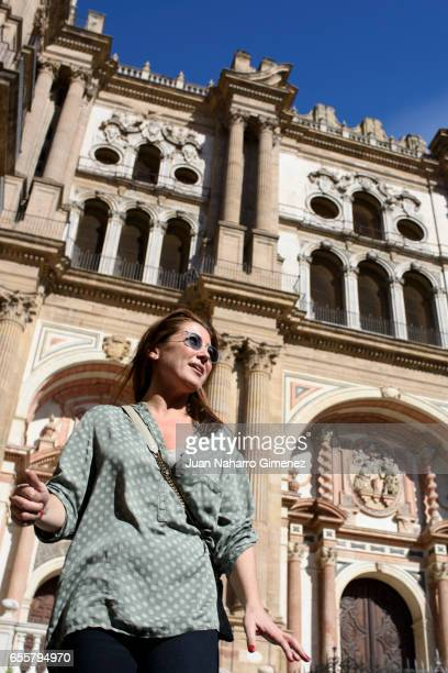 Spanish Flamenco dancer Sara Baras attends 'Sara Baras Todas las Voces' photocall during the 20th Malaga Film Festival on March 20 2017 in Malaga...