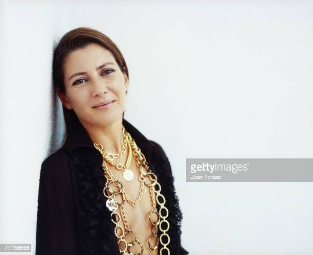 Spanish flamenco dancer Sara Baras poses for a portrait shoot in Madrid on May 22 2006