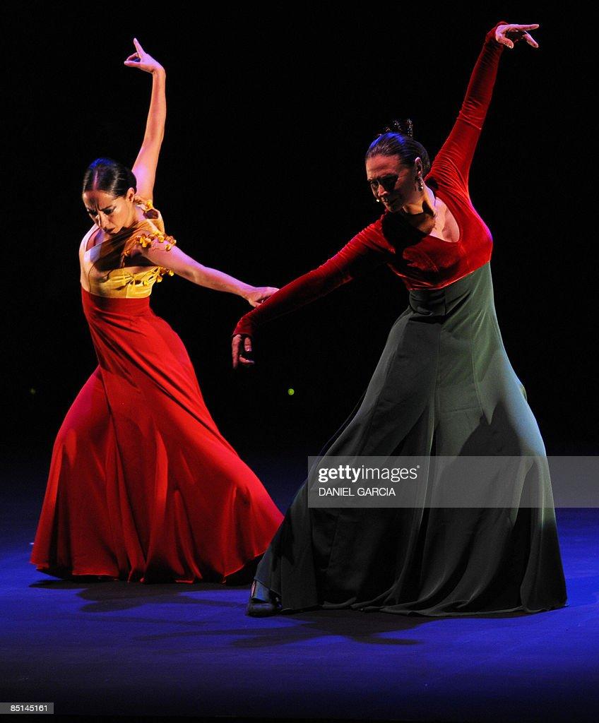spanish flamenco dancers merche esmerald pictures getty images