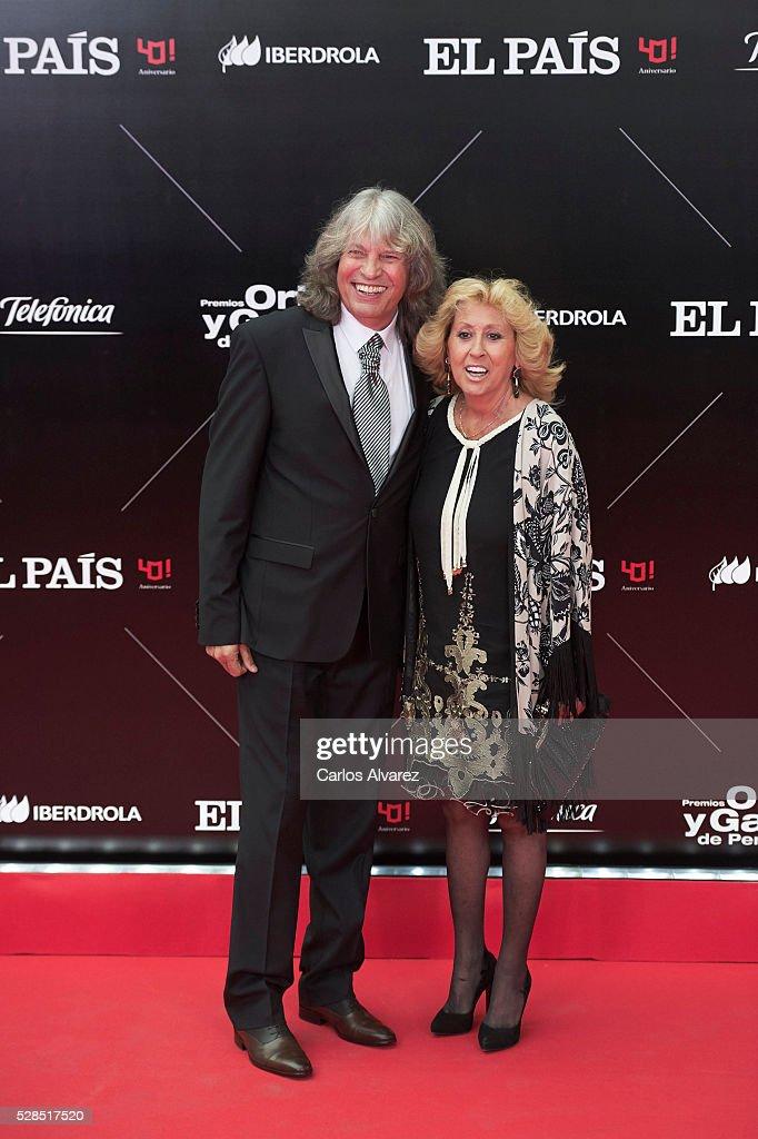 Spanish flamenco singer Jose Merce attends 'Ortega Y Gasset' journalism awards 2016 at Palacio de Cibeles on May 05, 2016 in Madrid, Spain.