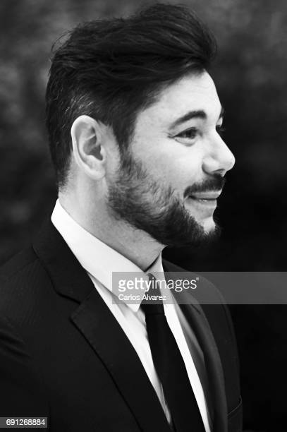 Spanish flamenco singer Miguel Poveda attends the Gentleman awards 2017 at the Lazaro Galiano Museum on June 1 2017 in Madrid Spain