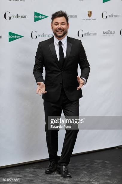 Spanish flamenco singer Miguel Poveda attends the 'Gentleman Awards 2017' photocall at Lazaro Galdiano museum on June 1 2017 in Madrid Spain